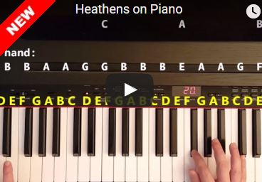 Heathens Piano Tutorial