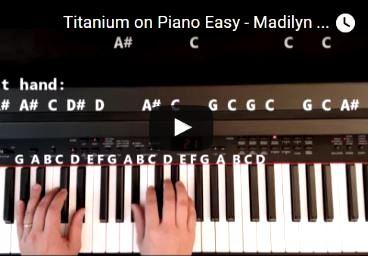 Bruno mars grenade (piano tutorial) [easy version] youtube.