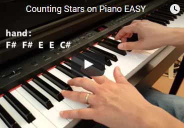 Counting Stars Piano Tutorial